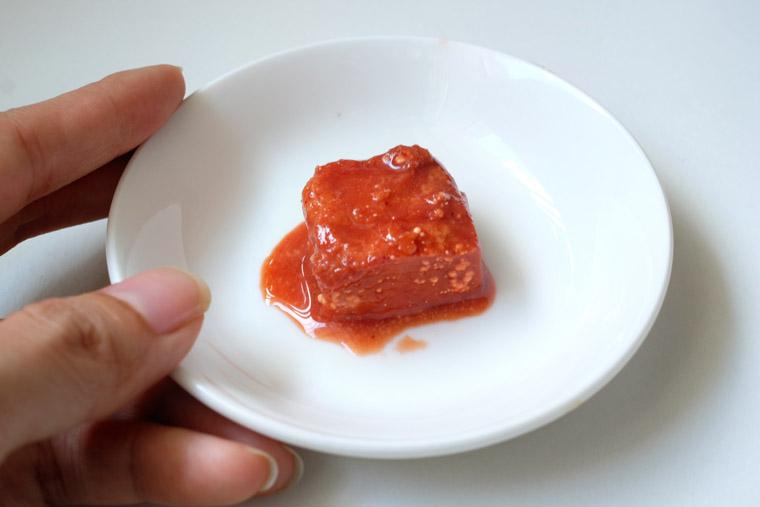 Nam yu 南乳 Red Fermented Beancurd
