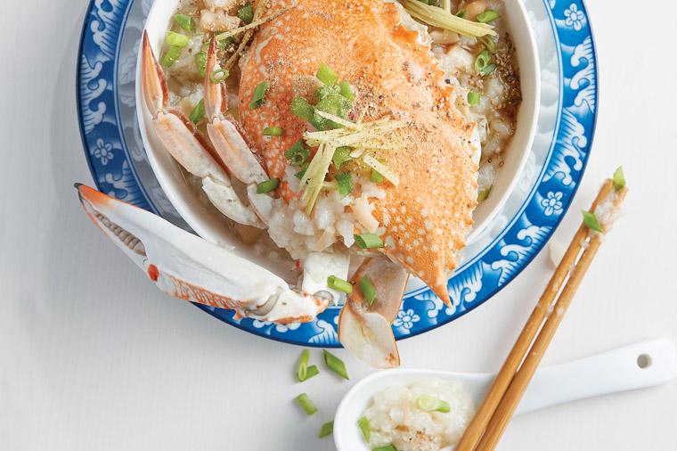 flower crab congee 花蟹粥)