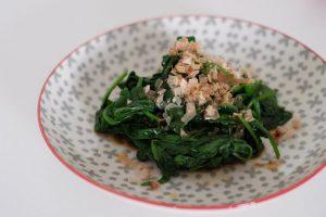 Japanese Spinach Salad Ohitoshi