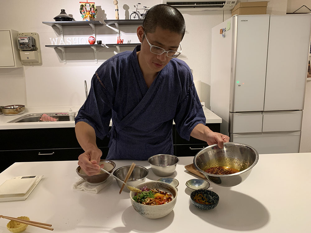 Sho from Washo Cooking Cookly